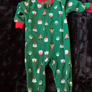 Christmas Footed PJs